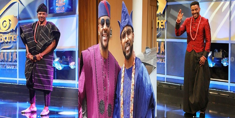 BBNaija: 'Ebuka Obi-Uchendu is Nigeria's best dressed man' says Banky W