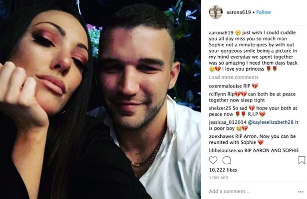 "love island, ""See you very soon my angel"": Haunting post from Love Island star Sophie Gradon's heartbroken boyfriend"