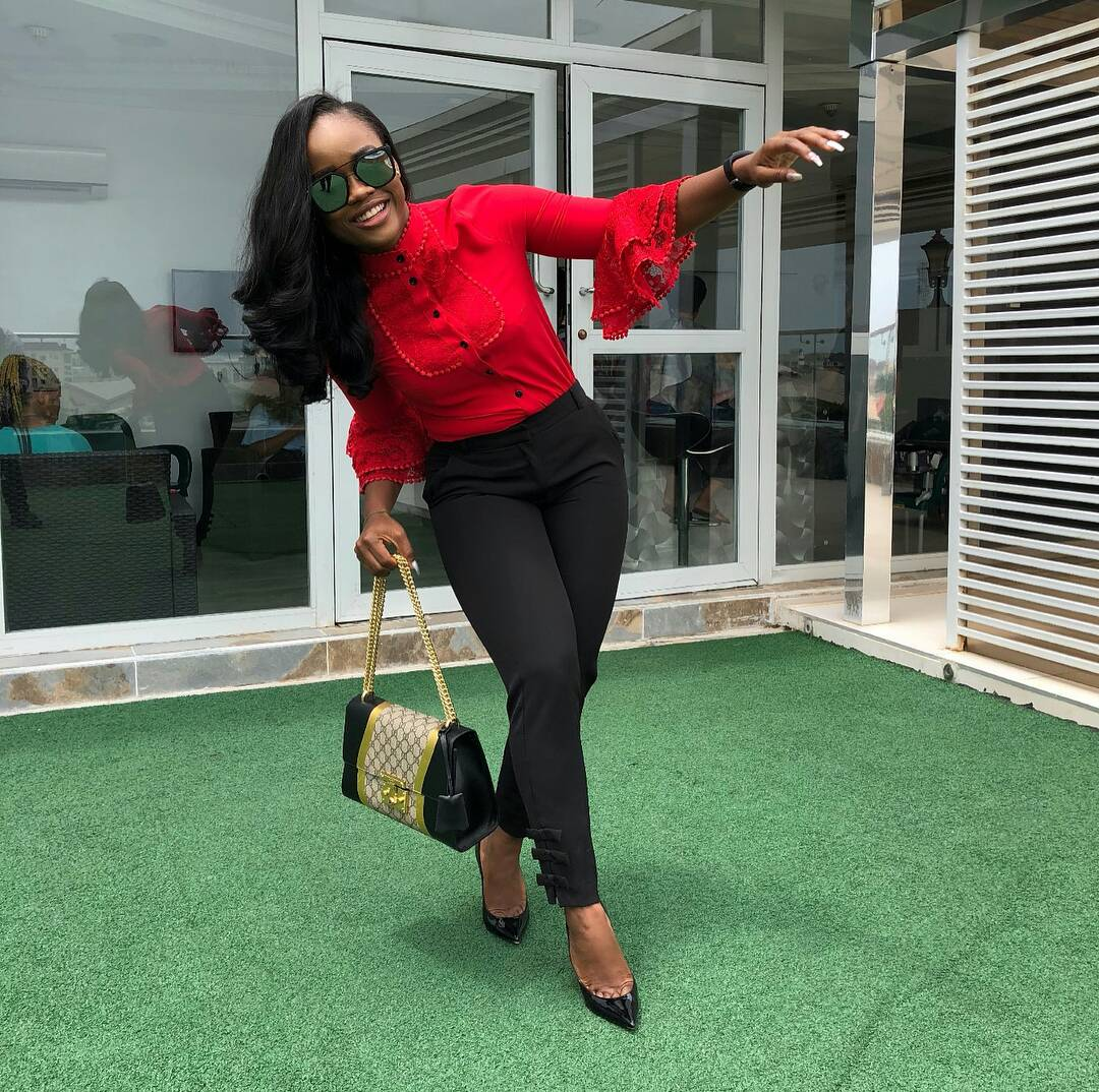 hip, BBNaija Cee-c attacked by haters 'Where is your hip?' See Photos