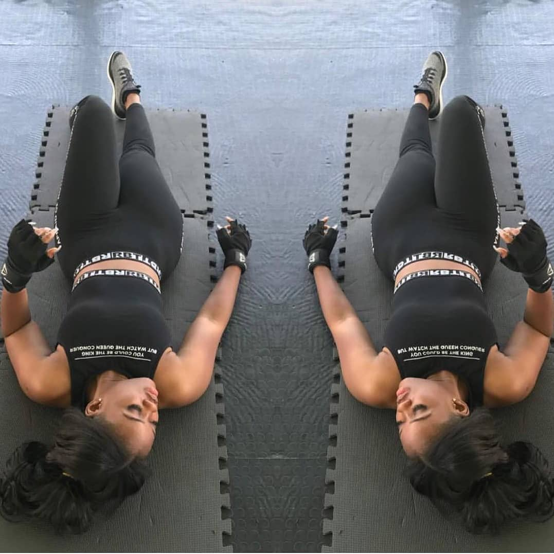 Photo: Cee-c looks juicy in a morning workout, Are you tempted?
