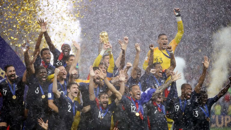 france, Russia World Cup: France crowned World Champion after trashing Croatia 4-2, Latest Nigeria News, Daily Devotionals & Celebrity Gossips - Chidispalace