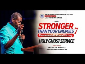 July 2018 Holy Ghost Service, RCCG July 2018 Holy Ghost Service Live Streaming with Pastor E.A. Adeboye, Latest Nigeria News, Daily Devotionals & Celebrity Gossips - Chidispalace