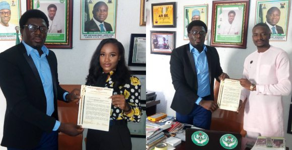 Leo & Cee-c become Numatville Tourism, Love in the air: Leo & Cee-c become Numatville Tourism ambassadors, get plots of land, Latest Nigeria News, Daily Devotionals & Celebrity Gossips - Chidispalace