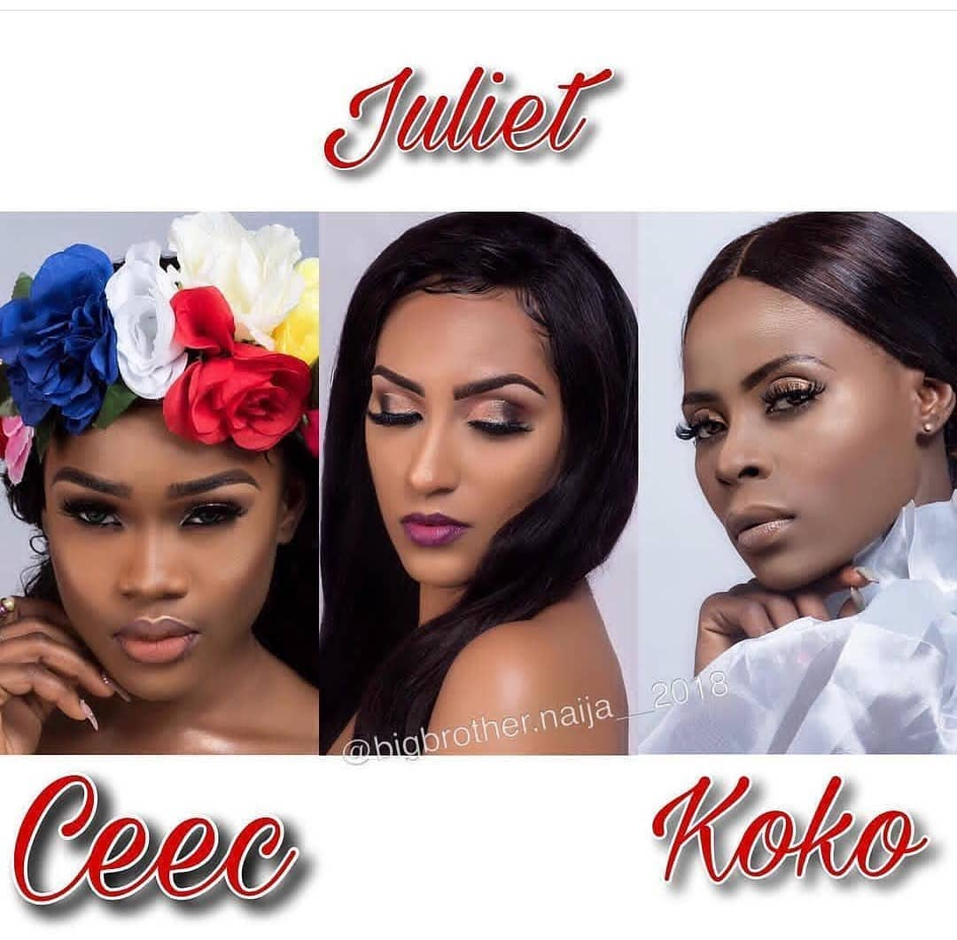 Who will you go for, Cee-c, Juliet or Khloe?, Who will you go for, Cee-c, Juliet or Khloe?