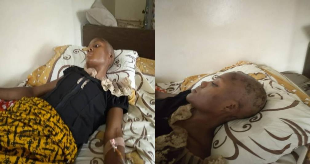 Lady Escapes Being Used For Money Ritual In Benin, After She Was Rejected - See Photos