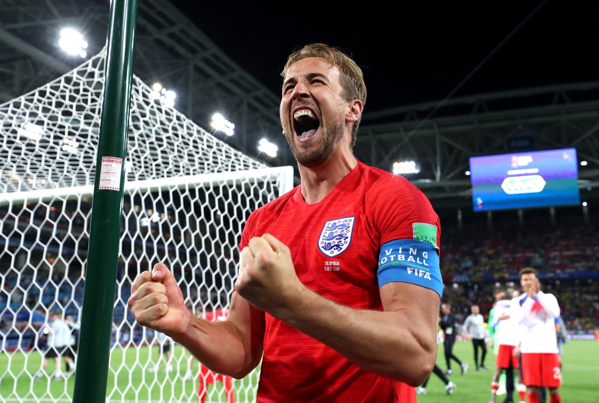 "england, ""No mum, I'm not coming home – football is!"" England players celebrate penalty victory over Colombia with fan selfies and Twitter jokes"