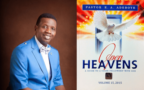 Open Heaven 16 April 2018 Daily Devotional, Open Heaven 16 April 2018 Daily Devotional by Pastor E.A. Adeboye – Abba Father