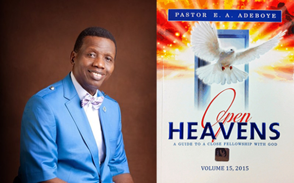 Open Heavens 18 October 2018, Open Heavens 18 October 2018 – A Son Indeed? Pastor E. A. Adeboye