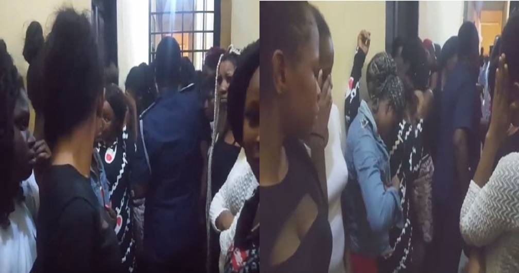Photo of Aw!!! 41 Nigerian prostitutes arrested by Police in Ghana – Watch Video
