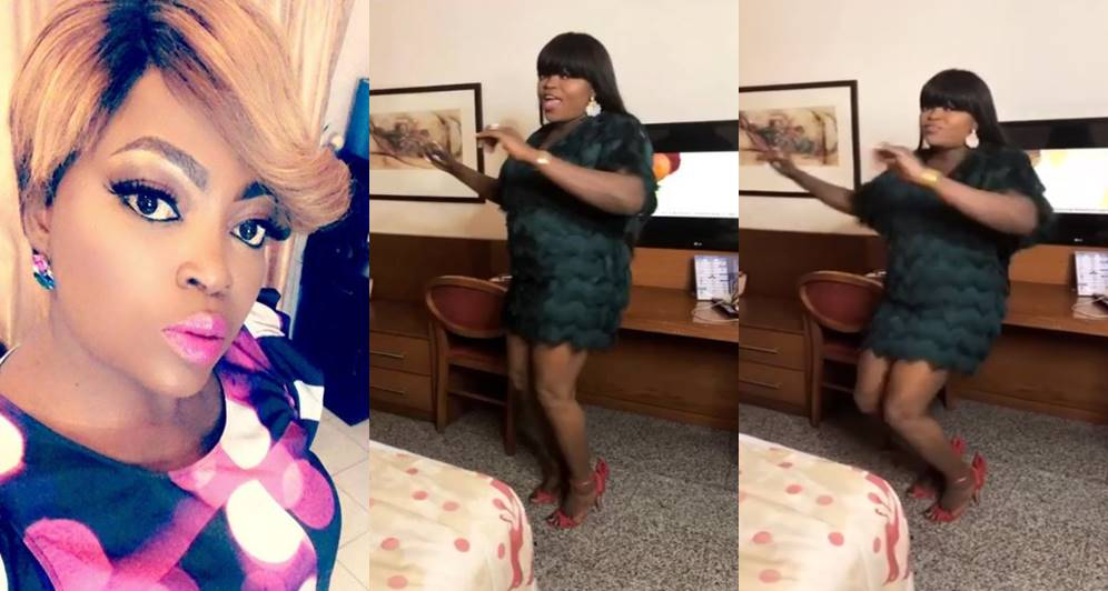 Nollywood Actress Funke Akindele celebrates 5 million followers on Instagram (Video)
