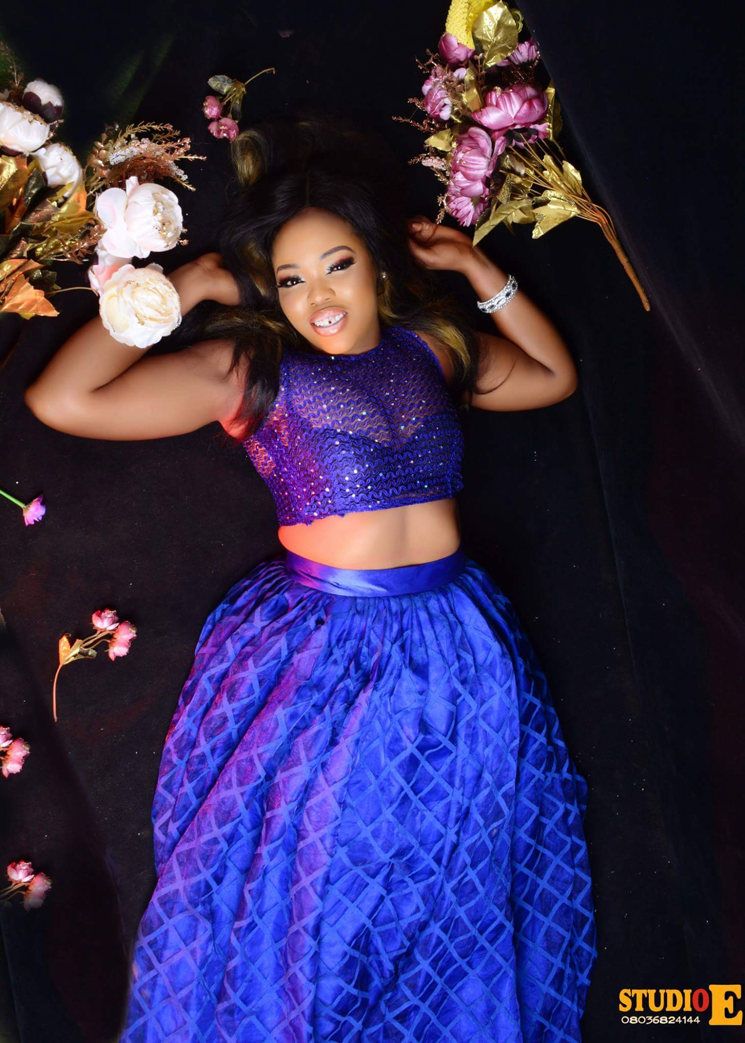 Between Tonto Dikeh and Miss Nollywood Nigeria, who rocks it well on birthday photoshoot
