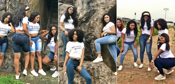 Beautiful slay Queens celebrate after graduating from Imo State University (Photos)