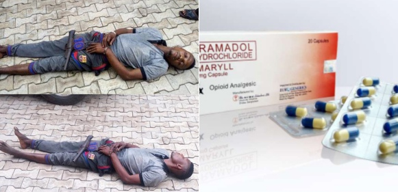 Kidnapper who slept off during operation under tramadol influence, still sleeping 6 days after arrest