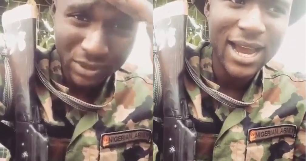 Photo of Viral Video: 'Get your PVC. Come 2019, no old ass gon rule us anymore' – Nigerian soldier laments the state of the Nation