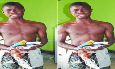 , Crime: 18-Year Old Paraded For Raping 7 University Students, Latest Nigeria News, Daily Devotionals & Celebrity Gossips - Chidispalace