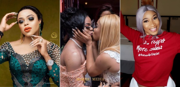 """""""I can't wait for God to use you in a special way"""" – Tonto Dikeh's birthday message to Bobrisky"""