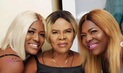 BBNaija Alex shares cute 'three generations' photos with Mother and grandma