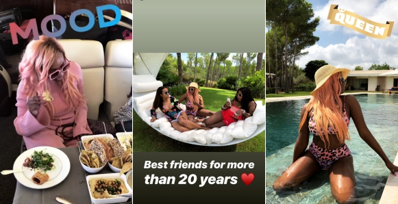DJ Cuppy embarks on her annual vacation in Ibiza with her best friends, DJ Cuppy embarks on her annual vacation in Ibiza with her best friends (photos), Latest Nigeria News, Daily Devotionals & Celebrity Gossips - Chidispalace