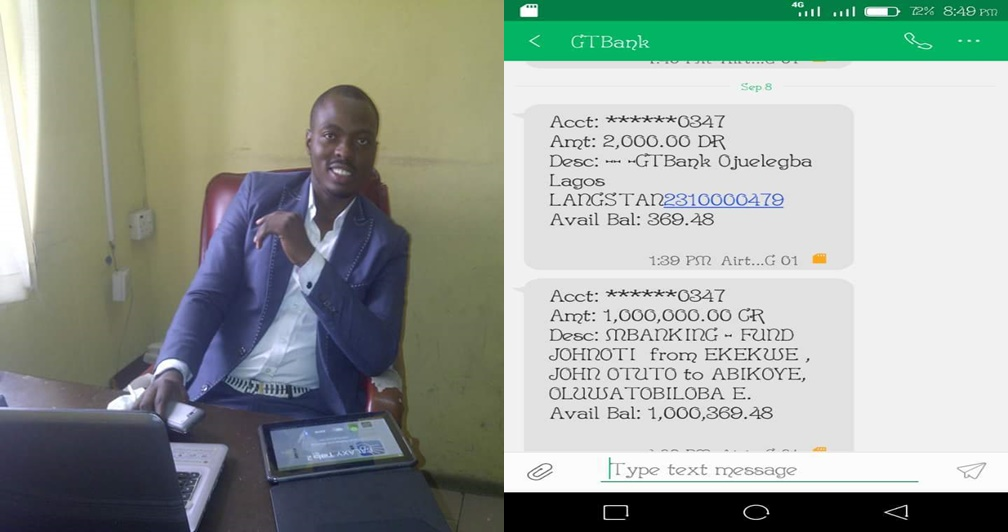 Man who had ₦360 left, returns the ₦1 million mistakenly paid into his account