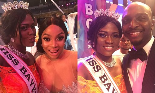 , Miss Bayelsa 2018 Queen Freda Fred spotted with Toke Makinwa, Ik and others, Latest Nigeria News, Daily Devotionals & Celebrity Gossips - Chidispalace