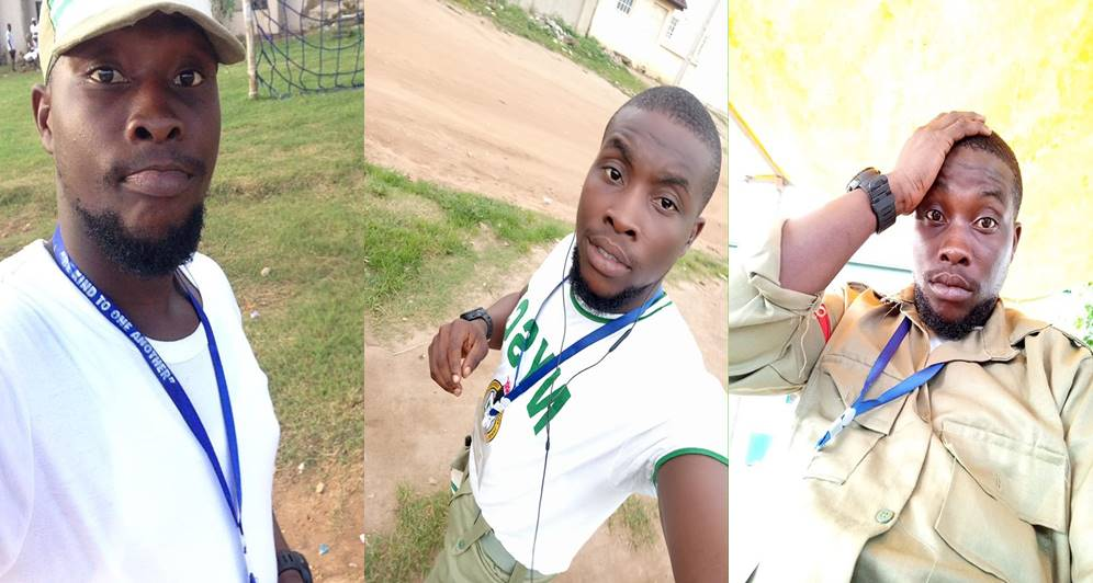 "corp, ""RIP to my useless father,"" – Corps member declares, as he celebrates his dad's death"