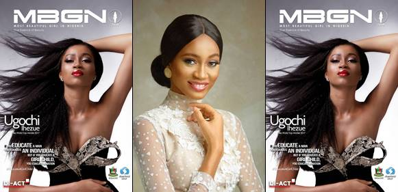 Photo of Ex-MBGN World Queen Ugochi Ihezue glows as she covers MBGN magazine