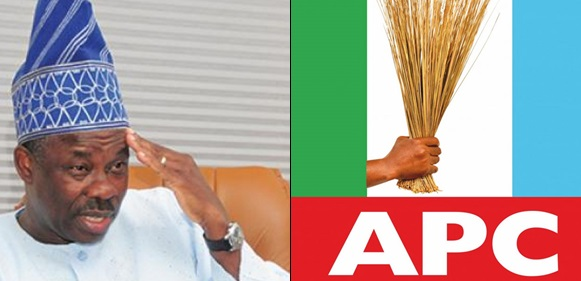 Amosun, Gov. Amosun Vows To Dump APC Over 'Anointed Candidature'