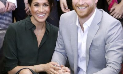 meghan, Meghan Markle gushes over Prince Harry as she tells fans 'he's the best husband ever'