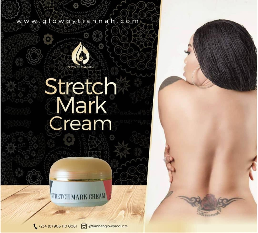 Photo of Toyin Lawani Goes Nude To Advertise Anti Stretch Marks Product