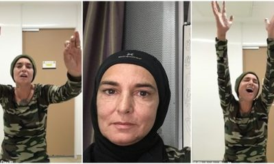 'I'm proud to have become a Muslim': Sinead O'Connor announces she has converted from Catholicism – and says she's now called Shuhada Davitt