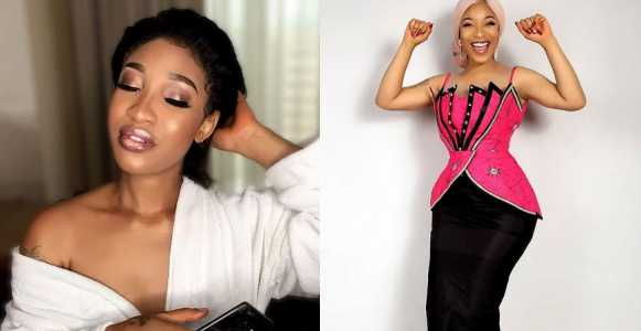 Aw! Tonto Dikeh gushes over the feeling of f*cking with a real man