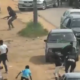 Viral Video from the clash between Nigerian Army officers and Shi'ite members in Abuja