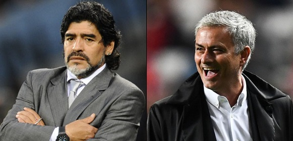 Mourinho Is The Best Football Manager, Mourinho Is The Best Football Manager In The World – Maradona, Latest Nigeria News, Daily Devotionals & Celebrity Gossips - Chidispalace