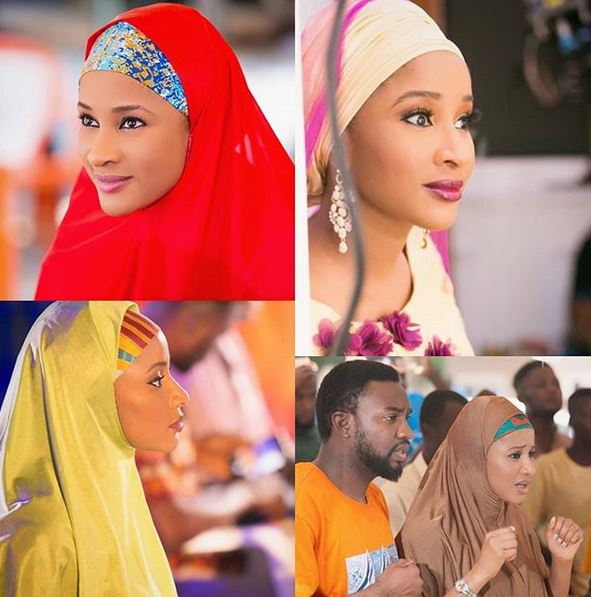 Nollywood actress, Adesua Etomi rocks Hijab in new photos