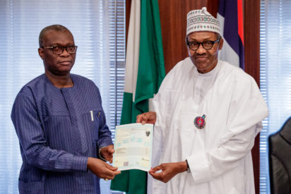 ''I sat for WASC in 1961'' - President Buhari says as he receives his attestation certificate from examination body