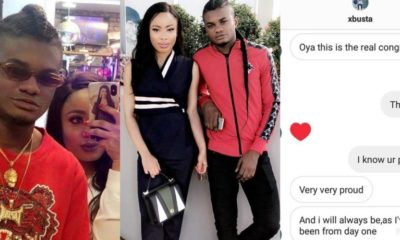 Instagram hacker exposes Nina's chat with new boyfriend - (Photos)