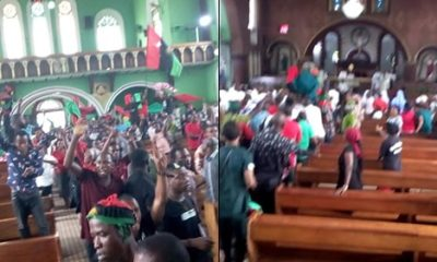, IPOB members react to leaked video of Nnamdi Kanu in bed with wife