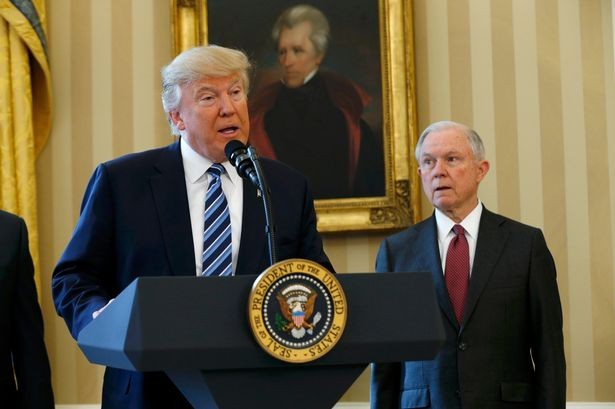 Trump fires Jeff, Breaking: President Trump fires Attorney General Jeff Sessions, replaces him with Matthew G. Whitaker