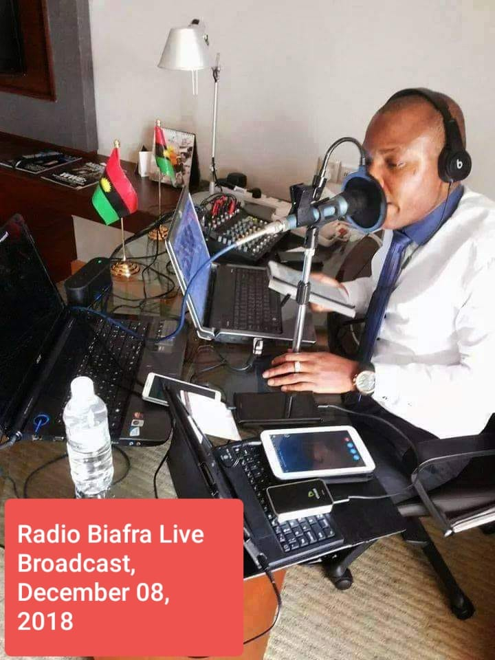 Nnamdi Kanu Full Speech December 8 2018 live, Nnamdi Kanu Full Speech December 8 2018 live broadcasting – exposing Jibril From Sudan