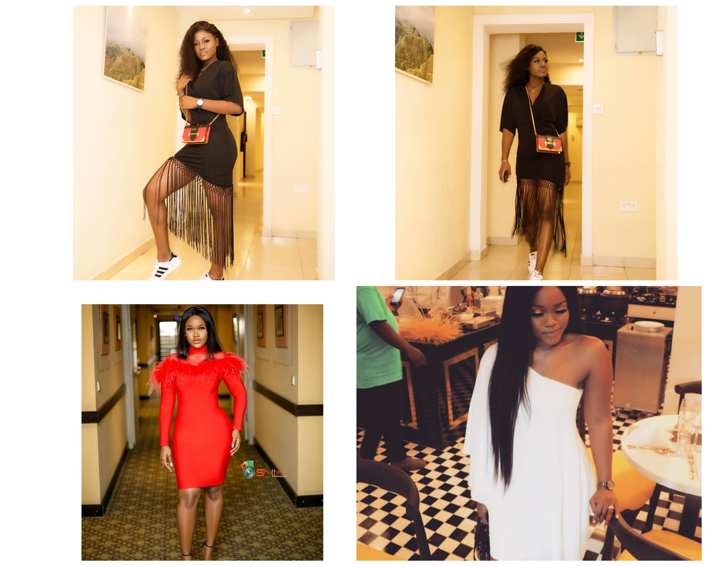 Alex Unusual and Cee-c, Between Alex Unusual and Cee-c who got the hot legs?, Latest Nigeria News, Daily Devotionals & Celebrity Gossips - Chidispalace