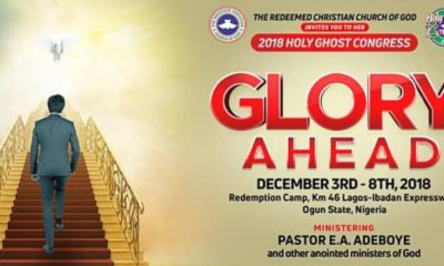 2018 RCCG Holy Ghost Congress Day 6 Live Broadcast