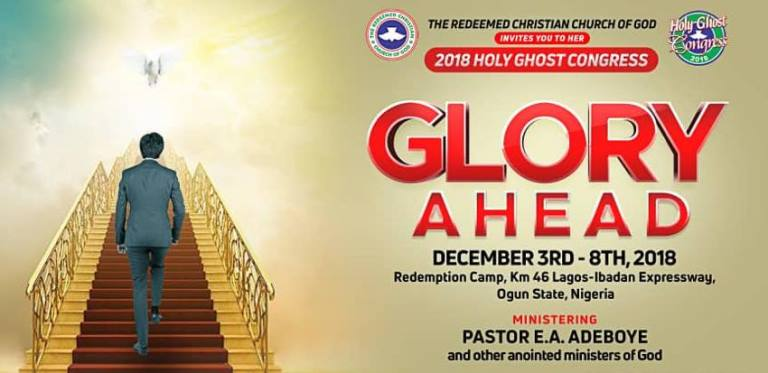 RCCG Holy Ghost Congress 2018 Day 4 Live Broadcast, RCCG Holy Ghost Congress 2018 Day 4 Live Broadcast, Latest Nigeria News, Daily Devotionals & Celebrity Gossips - Chidispalace