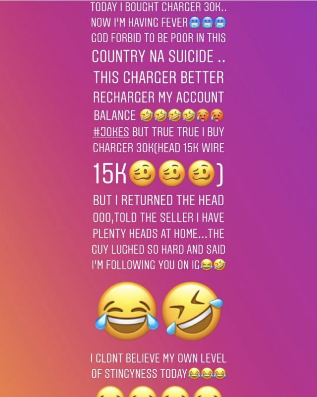 Tonto Dikeh Iphone Charger, See What Tonto Dikeh Did After Buying An Iphone Charger For N30k, Latest Nigeria News, Daily Devotionals & Celebrity Gossips - Chidispalace