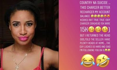 See What Tonto Dikeh Did After Buying An Iphone Charger For N30k