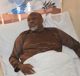 Dino, Video: Watch Dino Melaye speaks from his hospital bed