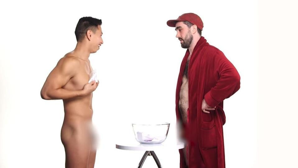 Penis, 4 men go nake¢d to compare penis size (+18 Photos/Video)