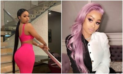 Alexis Skyy flaunts her nipples, Alexis Skyy flaunts her n!pples and curvy backside in sexy lingerie (Photos)