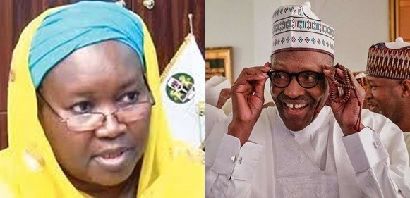 Buhari And Aminat Zakari, President Buhari And Aminat Zakari don't share family relationship – Presidency