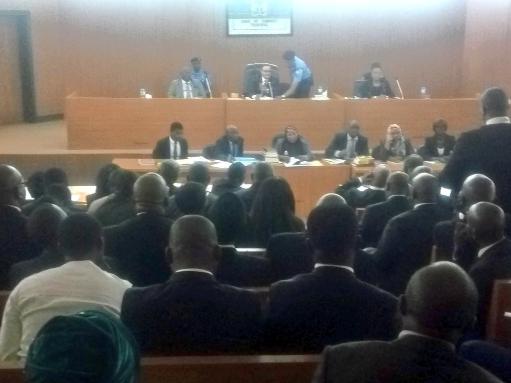 Walter Onnoghen, Breaking: CJN Walter Onnoghen's case adjourned till January 22nd