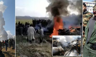 Pakistan claims it shot down two jets and parades bloodied pilot while India says it's shot down one